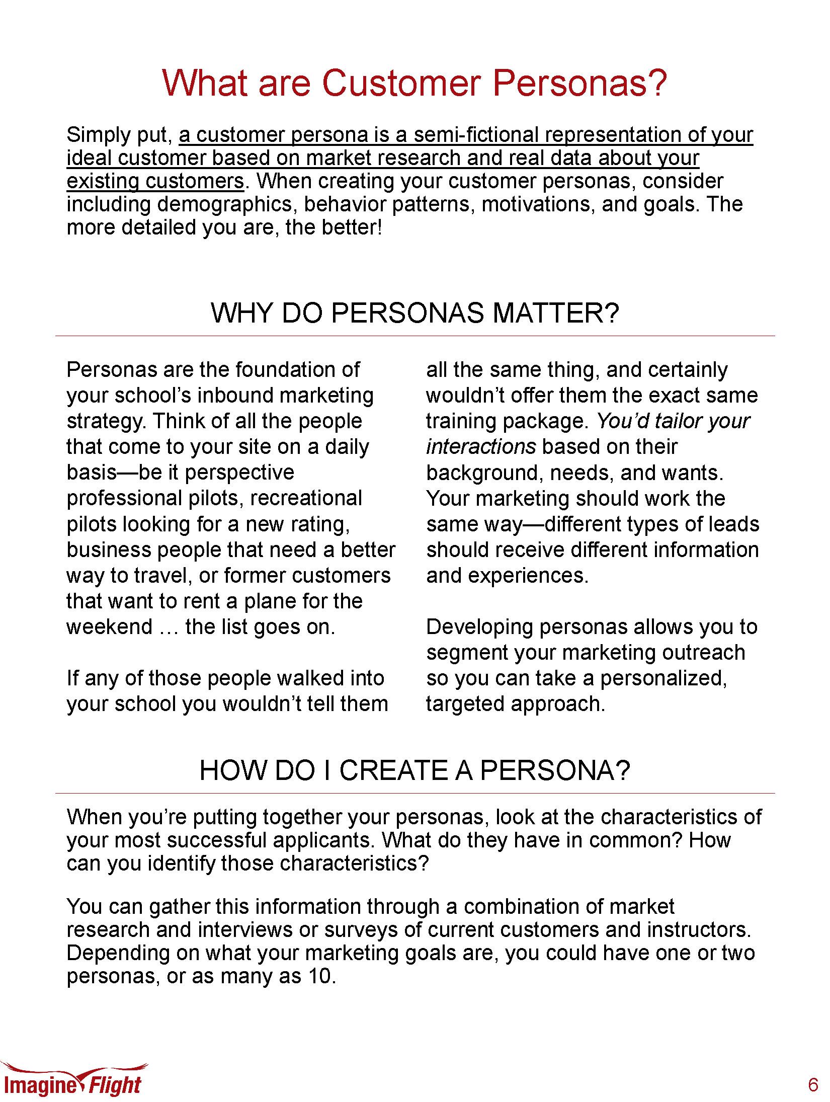 Customer Personas